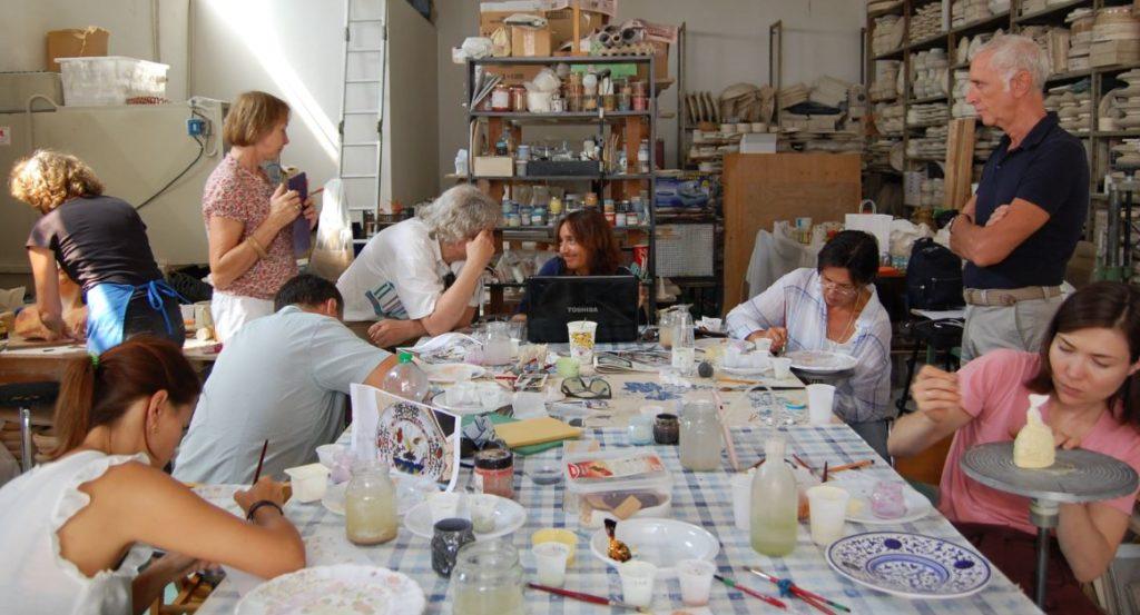 Il Coordinatore Turistico Locale a Emozioni Ceramiche in Faenza